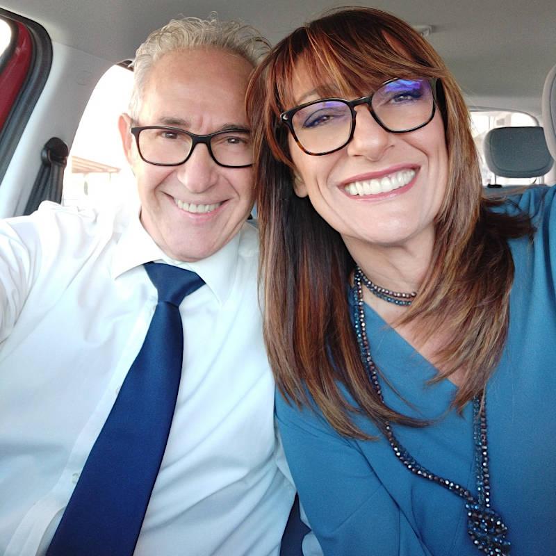 Foto di Francisco Orsini e Deborah, fondatori delle Edizioni Musicali Monocroma